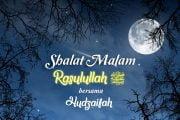 SALAT MALAM RASULULLAH ﷺ BERSAMA HUDZAIFAH